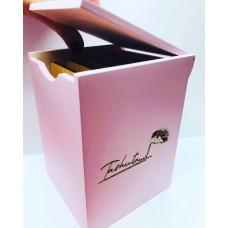 Бокс розовый для планшетов на липучке 5 шт